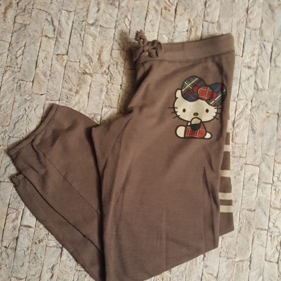 Sanrio Pants - HELLO KITTY sweat pants size L